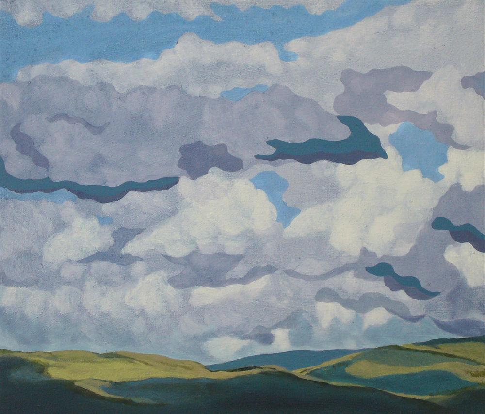 Lakeland Clouds by Jon Bird