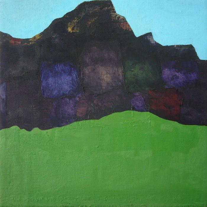 Blue Over Green, Mountain Inbetween by Jon Bird