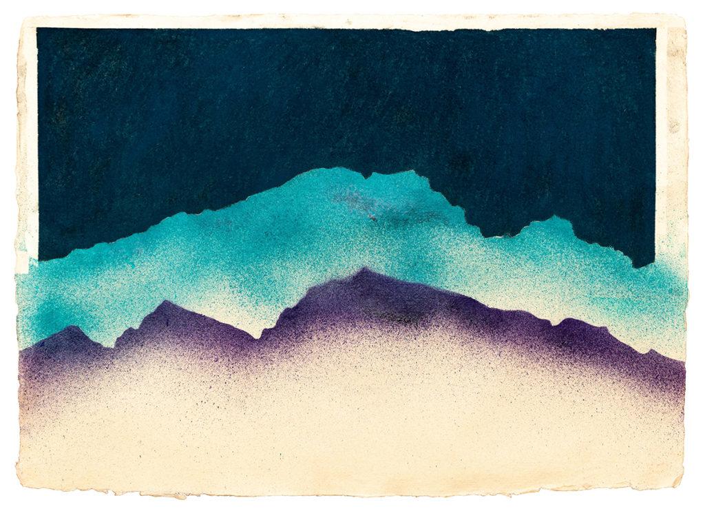 Untitled pastel by Jon Bird