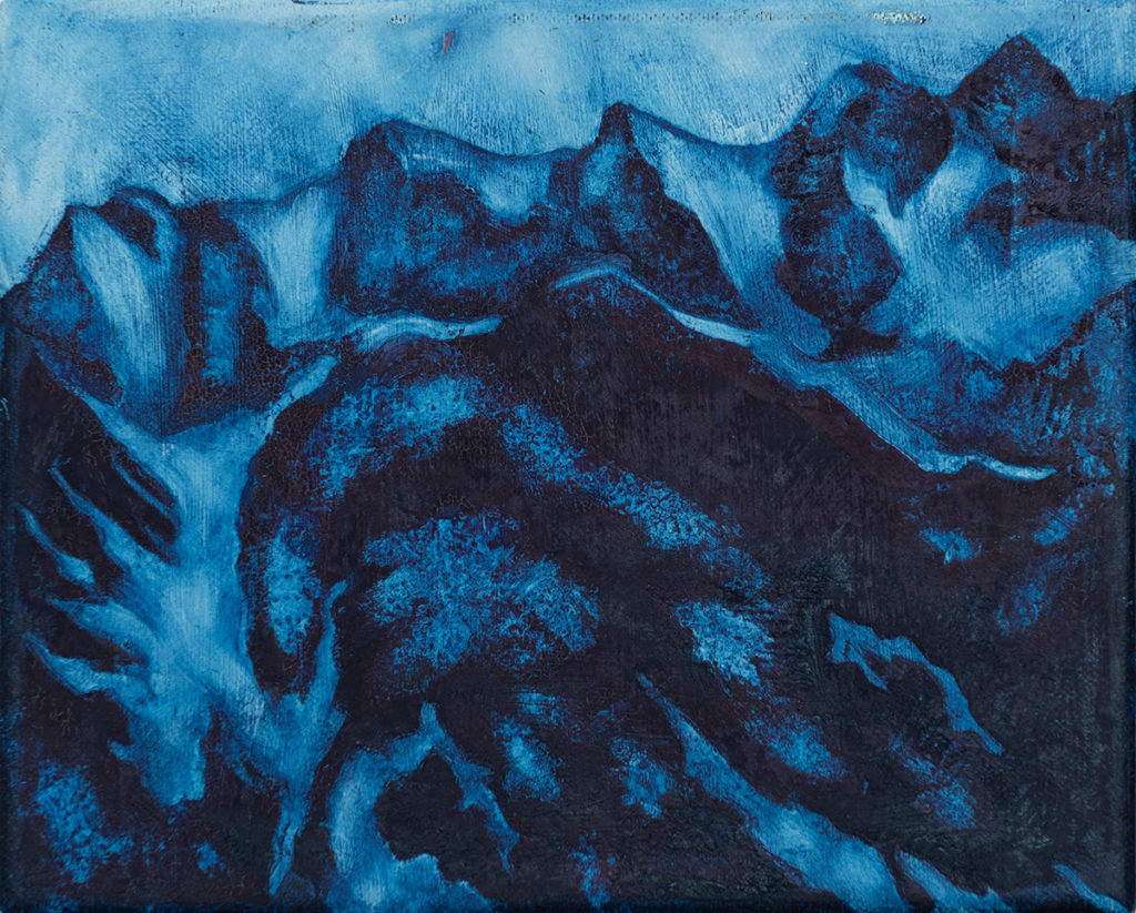 The Blue Mountains by Jon Bird