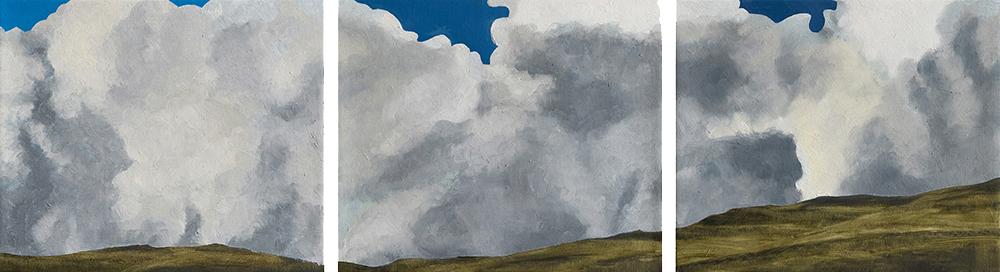 Stormy weather, Yorkshire by Jon Bird