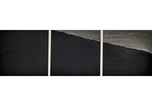 Into the deep: triptych by Jon Bird.