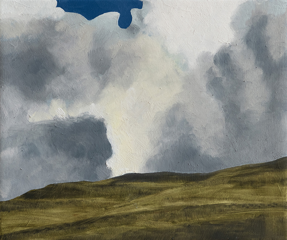 Stormy weather, Yorkshire Dales triptych right